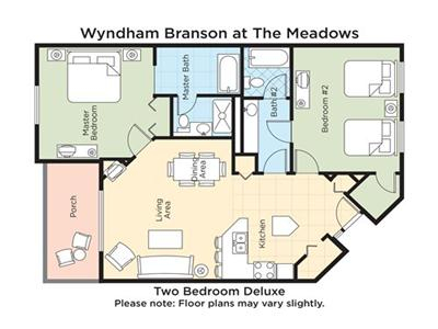 Wyndham branson at the meadows endless vacation rentals for Cabins at branson meadows